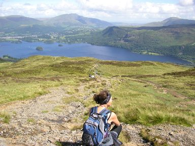 On Cat Bells